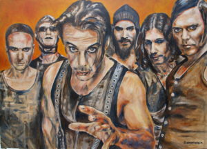 """Rammstein is een Duitse metalband die naar eigen zeggen """"Tanzmetall"""" produceert, ofwel een synthese van progressive metal, industrial en techno, met enige gothic-invloeden. Rammstein beweert echter een volledig eigen (Duitse) stijl te hebben ontwikkeld"""